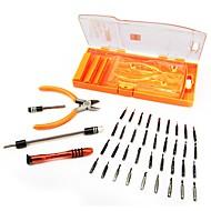 Setul de șurubelnițe de precizie 40 în 1 pentru telefonul mobil cu componente electronice trageți setul de instrumente de reparații