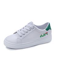 ieftine -Pentru femei Pantofi PU Vară / Toamnă Confortabili Adidași Negru / Rosu / Verde