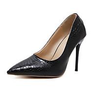 Žene Cipele Umjetna koža Proljeće Jesen Udobne cipele Inovativne cipele Obične salonke Cipele na petu Stiletto potpetica za Vjenčanje