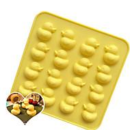 billige Bakeredskap-Bakeware verktøy Silikon baking Tool / 3D / Kreativ Kjøkken Gadget Til Småkake / Sjokolade / Is Tekneserie Formet Cookieverktøy 1pc