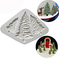 billige -Bakeware verktøy Silikon baking Tool / 3D / Kreativ Kjøkken Gadget Dagligdags Brug / Kake / Til Småkake 3D Cake Moulds 1pc