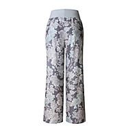 Žene Veći konfekcijski brojevi Širok kroj Ravan kroj Sportske hlače Chinos Hlače - Cvijetan, Cvjetni print