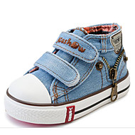 cheap Boys' Shoes-Boys' Shoes Canvas Spring Fall Comfort Sneakers for Casual Orange Dark Blue Light Blue