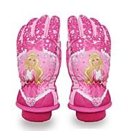 Skihandschoenen Kinderen Lange Vinger Houd Warm Beschermend Doek Katoen Sneeuwsporten Winter