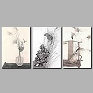 cheap Prints-Stretched Canvas Print Rustic, Three Panels Canvas Horizontal Panoramic Print Wall Decor Home Decoration