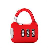 6422 cadeado de cadeias de zinco cadeado cadastro de 3 digitos ginásio dormitório gabinete cadeado mini bloqueio bloqueio do tanque