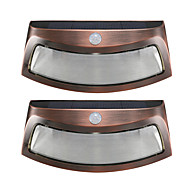 billige Utendørs Lampeskjermer-2pcs 2W LED-lyskastere Solkraft / Oppladbar / Dekorativ <5V Dekorer bryllupsscene / Utendørsbelysning / Bryllups Selskap Dekor