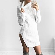 Ženske Izlasci Ležerno/za svaki dan Regularna Pullover,Jednobojni Ruska kragna Dugih rukava Vuna Jesen Zima Mikroelastično Srednje