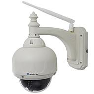 vstarcam® 720p 1.0mp wi-fi vanntett utendørs sikkerhet overvåking ip kamera (ptz / 4x zoom 15m nattesyn / alarm / p2p / support 128gb tf