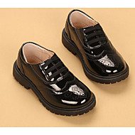 Boys' Shoes Leatherette Fall Winter Comfort Sneakers For Casual Black/White Black