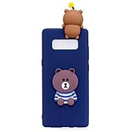 Etui Til Samsung Galaxy Note 8 Mønster GDS Bagcover Tegneserie 3D-tegneseriefigur Blødt TPU for Note 8