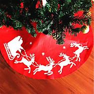 1本のサンタクロースツリースカートクリスマスレッド気まぐれなサンタクリスマスツリースカート '美しいクリスマスプレゼント