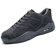 靴 秋 コンフォートシューズ スニーカー 編み上げ のために スポーツ ブラック グレー カーキ色