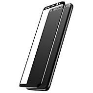 billige -Skjermbeskytter til Samsung Galaxy S8 Herdet Glass Skjermbeskyttelse Høy Oppløsning (HD) 9H hardhet Motstår Risser 3D  bøyd kant