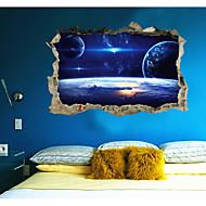 preiswerte -Abstrakt Fantasie 3D Wand-Sticker 3D Wand Sticker Dekorative Wand Sticker,Papier Stoff Haus Dekoration Wandtattoo