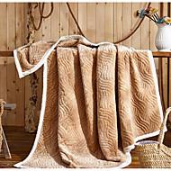 Super-pehmeä,Kuvioton Luova 100% polyesteri peitot