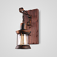 Rustic/Lodge Vintage Traditional/Classic Country Wall Sconces For Indoors Metal Wall Light 220V 110V 60W