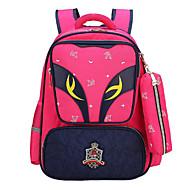 børn Tasker Oxfordtøj Børne Tasker Lynlås for Alle årstider Rød Lyserød Rosa Marineblå