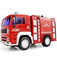 Χαμηλού Κόστους KAIDIWEI®-Παιχνίδια αυτοκίνητα Φωτισμός LED Σετ παιχνιδιών Εκπαιδευτικό παιχνίδι Πυροσβεστικό όχημα Μουσική Οχήματα Μόδα Πυροσβεστικά Τραγούδι