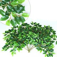 12 Gren Silke Planter Veggblomst Kunstige blomster