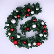 cheap Holiday Decorations-1pc Christmas Ornaments Garland for Holiday Decorations 270*25