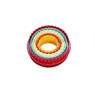 Cake Moulds Rund Rektangulær For kjøkkenutstyr Plastikker Kunstnerisk