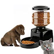 ネコ 犬 フィーダ ペット用 ボウル&摂食 自動 ホワイト ブラック