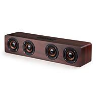 W8 Bluetooth-højttaler Bluetooth 4.0 3.5mm AUX Højtalere Til Boghylder Beige Blødrød