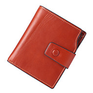 Women Bags Cowhide Coin Purse Buttons for Event/Party Office & Career All Season Blue Black Camel Dark Red