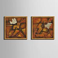 Former abstrakt fantasi Innrammet Lerret Innrammet Sett Veggkunst,PVC Materiale med ramme For Hjem Dekor Rammekunst Stue Kjøkken