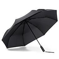 xiaomi paraplu voor zonnige en regenachtige dagen - zwarte zonlichtschaduw warmte-isolerende uv