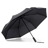 guarda-chuva de xiaomi para dias ensolarados e chuvosos - luz solar preta que protege o isolamento térmico anti-uv