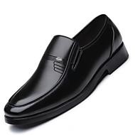 baratos Sapatos Masculinos-Homens Sapatos formais Microfibra Primavera / Verão Mocassins e Slip-Ons Preto / Festas & Noite
