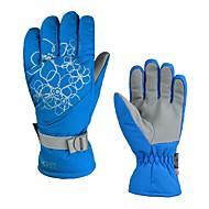 Luvas de Esqui Mulheres Dedo Total Manter Quente Cobertura Motociclismo Exercicio Exterior Inverno