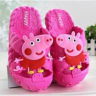 Meisjes Schoenen PVC Leder Zomer Herfst Comfortabel Slippers & Flip-Flops Voor Causaal Donkerblauw Fuchsia Roze Lichtblauw