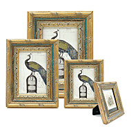 cheap Picture Frames-Country/Rustic Classic European Style Wooden Painting Picture Frames Wall Decorations, 1pc