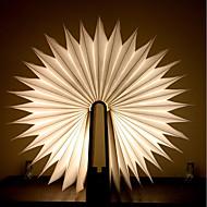 billiga Belysning-1st bok LED Night Light Varmt vit Batterier Drivs Vikbar Uppladdningsbar Kreativ nyhet Dekorativt ljus