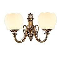 Vegglampe Opplys 10W 110-120V 220-240V E26/E27 Rustikk/ Hytte Retro/vintage Messing