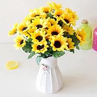 billige Kunstig Blomst-Kunstige blomster 2 Afdeling pastorale stil Hortensiaer Bordblomst