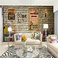 billige Tapet-Trykt mønster Art Deco 3D Hjem Dekor Moderne كلاسيكي Rustikk Tapetsering, Lerret Materiale selvklebende nødvendig Veggmaleri, Tapet