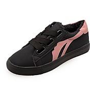 お買い得  レディーススニーカー-女性用 靴 PUレザー 冬 コンフォートシューズ スニーカー ラウンドトウ のために カジュアル ブラック グレー