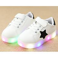 Недорогие -Мальчики обувь Полиуретан Весна Осень Удобная обувь Кеды Назначение Повседневные Белый Черный Зеленый Розовый