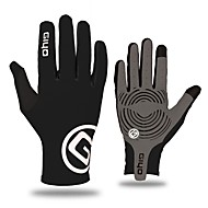 cheap Cycling Gloves-WEST BIKING® Sports Gloves Touch Gloves Bike Gloves / Cycling Gloves Windproof Breathable Double Wall Full-finger Gloves Superfine fiber