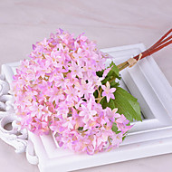 3 Gren Silke Hortensiaer Bordblomst Kunstige blomster
