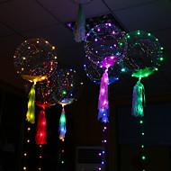 led bobo balloon light post ano novo casamento beleza balão de decoração multicolor iluminar sua festa