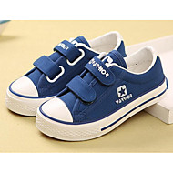 cheap Boys' Shoes-Boys' Shoes Canvas Spring Fall Comfort Sneakers for Casual White Black Blue