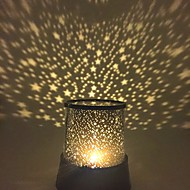 Noćno svjetlo zvijezde Zvjezdano svjetlo LED osvijetljenje Lampa projektor Svjetlo za noćni ormarić Galaksija Csillag plastika Djevojčice