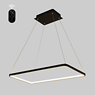 povoljno Stropna svjetla i ventilatori-Ecolight™ Linear Privjesak Svjetla Ambient Light Slikano završi Metal Acrylic Bulb Included, Prilagodljiv, Zatamnjen 110-120V / 220-240V Meleg fehér / Bijela Bulb Included / G9