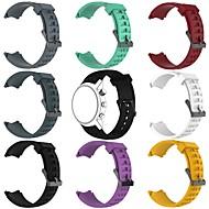 billiga Smart klocka Tillbehör-Klockarmband för SUUNTO Terra Suunto Klassiskt spänne Silikon Handledsrem