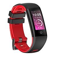 yy g16男性の女性の色のスマートなブレスレットステップマルチスポーツモード心拍数血圧iosとアンドロイド携帯電話用防水
